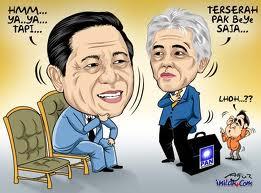 Pendukung Dan Oposisi SBY Dalam Gambar