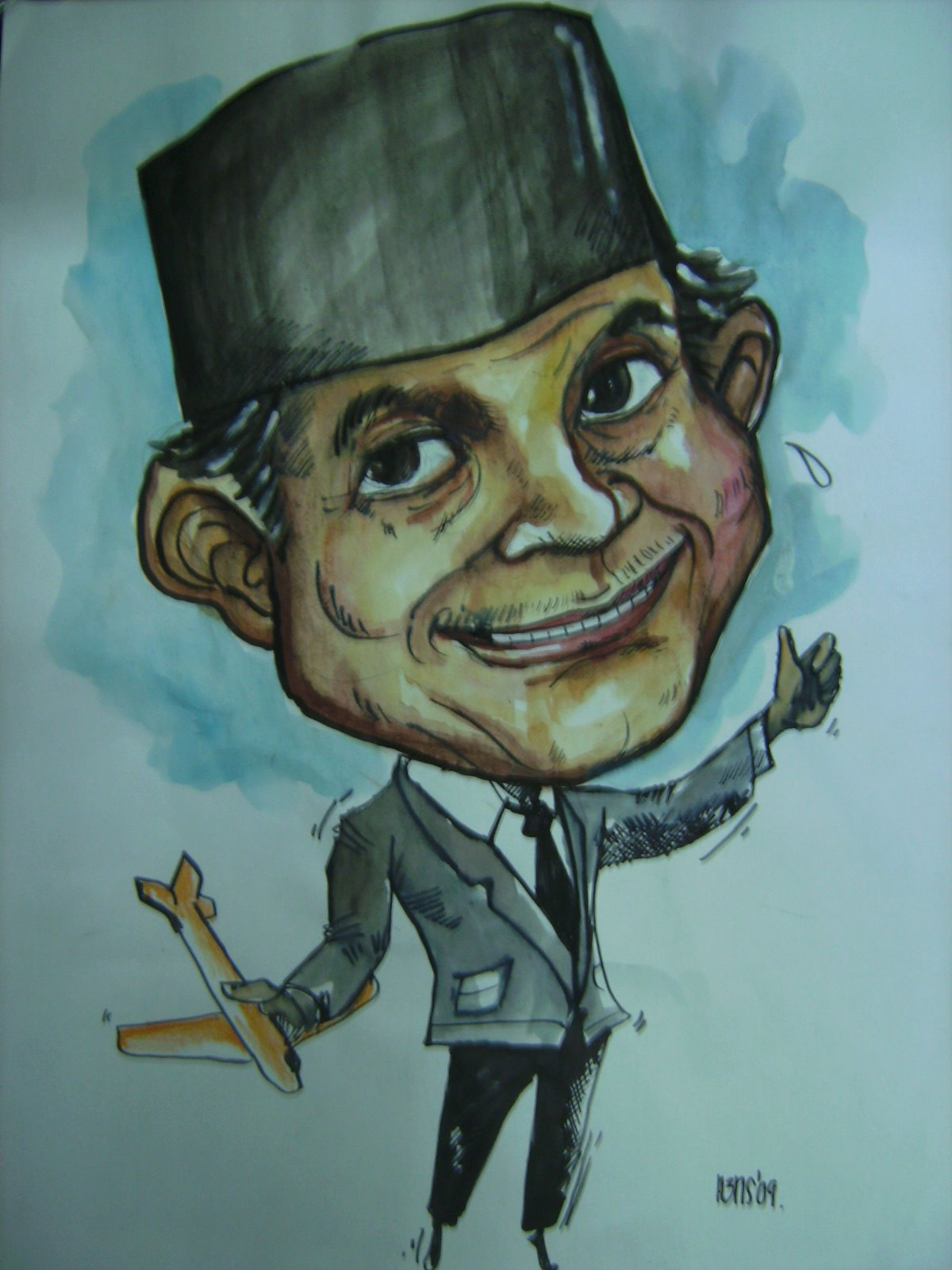 Driwan Icon CybermuseumThe Former Indonesian President BJ Habibie